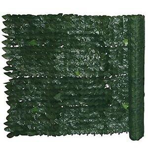 Siepe sintetica artificiale sempreverde foglia edera h 1 for Siepe sintetica artificiale