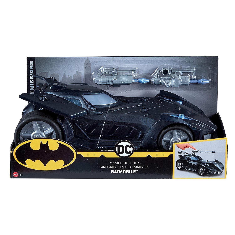 Batman - missionen - raketenwerfer batmobil  neu