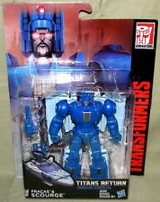 FRACAS & SCOURGE Transformers Generations Titans Return 2016 Deluxe Class