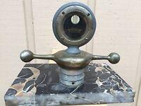 Antique 1918 Boyce MotoMeter Hood Ornament Radiator Temperature Gauge Cap MARBLE