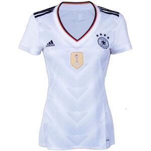 f373723d9ea92 Das Bild wird geladen adidas-Damen-Fussball-DFB-Home-Trikot-Deutschland-WM-