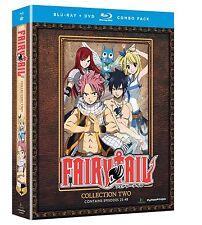 Fairy Tail . Collection 2 . Season 1 Episode 25 - 48 . Anime . 4 Blu-ray + 4 DVD
