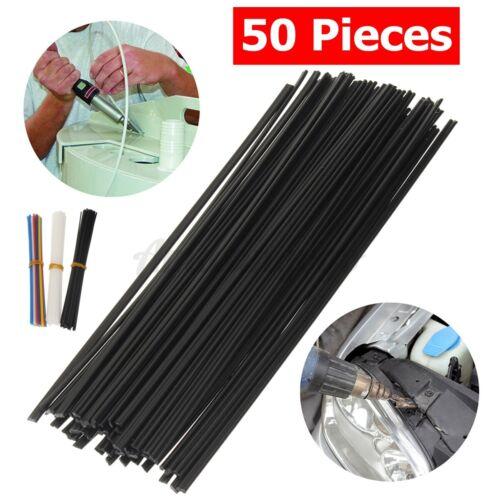 50pcs Plastic Welding Rods ABS//PP//PVC//PE Sticks For Car Bumper Welder Repair