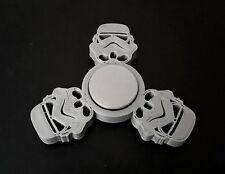 Custom Star Wars Stormtrooper Fidget Spinner - EDC Desk Toy - Focus Tool