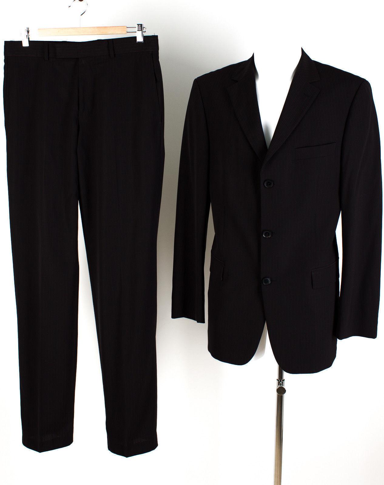 HUGO BOSS Anzug Gr. 94 (Schlank) TOP ZUSTAND  mit Wolle Sakko Hose Geschäft