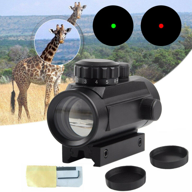 Tactical Holographic Sight Green Red Dot Sight Scope 1x40mm Cross Riflescope  k