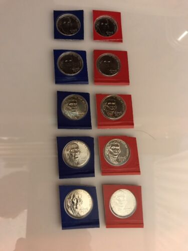 2017-2011 Nickels BU Sealed 14 Coins US MInt Blister Package