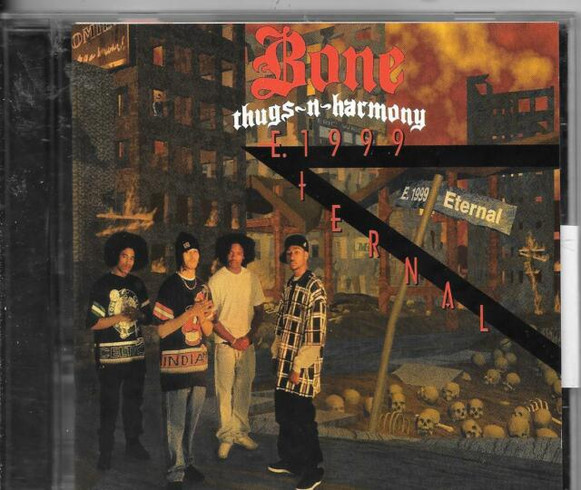 CD ALBUM--BONE THUGS - N - HARMONY--E. 1999 ETERNAL--1995