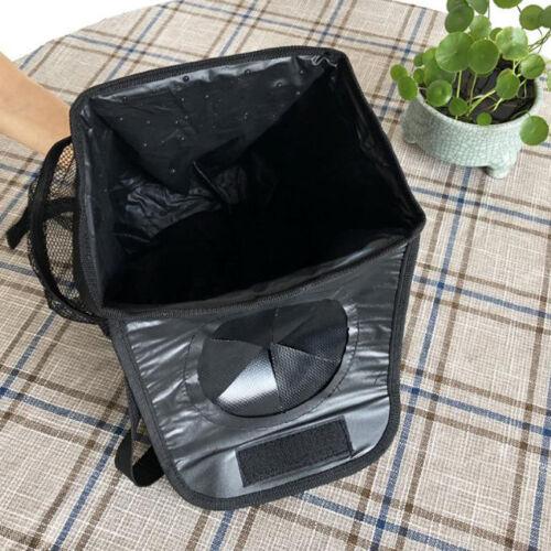 Hanging Car Trash Organizer Bin Bag Leakproof Auto Garbage Rubbish Bag 6A