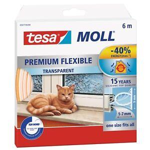 tesamoll-flexibles-Silikonprofil-Premium-Dichtung-Fenster-u-Tueren-6mx9mm-x-7mm