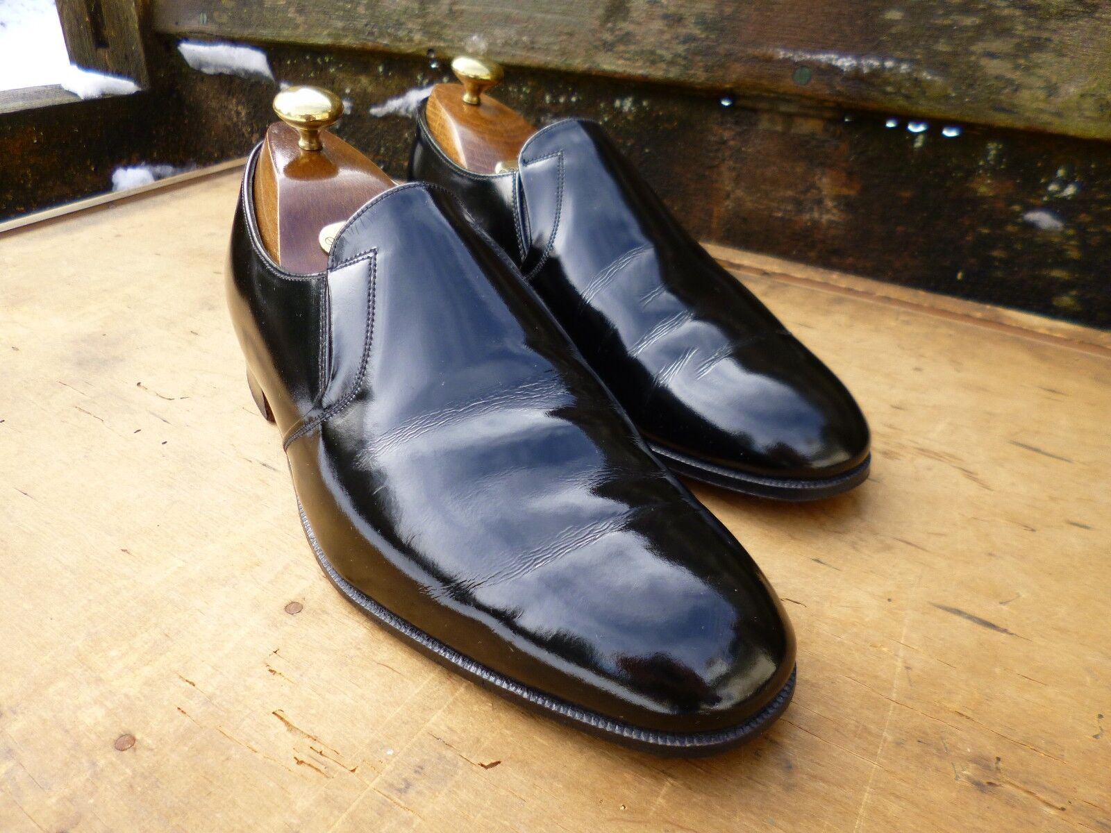 CHEANEY DRESS LOAFERS – schwarz – UK 7 – EXCELLENT CONDITION