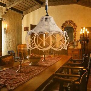 Vintage-Hemp-Rope-Ceiling-Lamp-E27-Iron-Art-Pendant-Light-Chandelier-Bar-Coffee