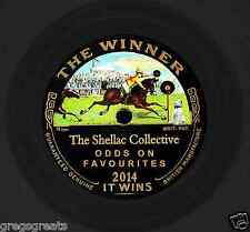 """NEW !! SHELLAC COLLECTIVE 2014 """"ODDS ON FAVOURITE""""  29 GREAT 78rpm RECORDS ON CD"""