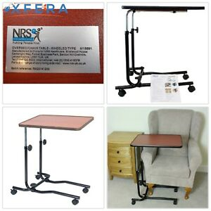Miraculous Details About Hospital Tray Portable Over Bed Chair Table Mobility Elderly Food Disability New Beutiful Home Inspiration Semekurdistantinfo