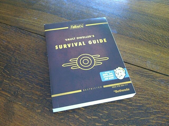 Fallout 4 Vault Dweller's Survival Guide Book PS4 Sony Prima Official Strategies