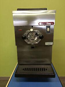 saniserv frozen drink machine