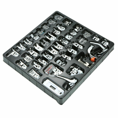 42//62pcs Domestic Sewing Machine Presser Foot Feet Set for Brother Singer Janome