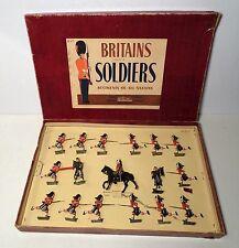 W Britain Set 2062 Seaforth Highlanders Charging w/ Box