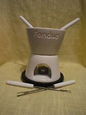 Fondue Set By Harry & David. Chocolate - Fun & Easy. Serves 4! New. No box