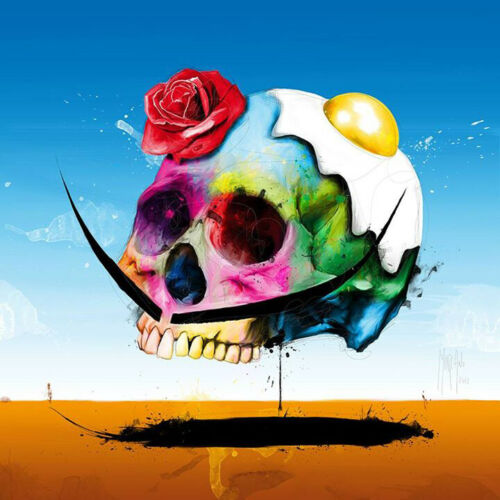 DALI/'S SKULL BY PATRICE MURCIANO POP ART PRINT KEYRINGS-MUGS-ART PRINT