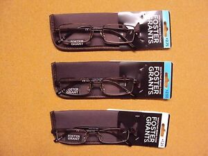 Foster-Grant-034-Trace-034-Reading-Glasses-w-Case-Reader-Pick-1-5-1-75-2-0-2-5-2-75