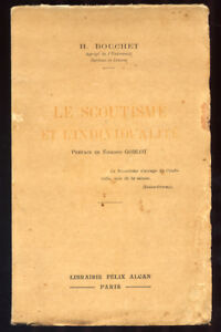 H-BOUCHET-LE-SCOUTISME-ET-L-039-INDIVIDUALITE-1933-RARE