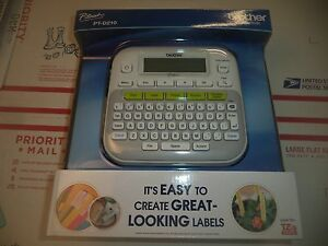 Brother P-Touch PT-D210 Label Maker Labeler - LCD Display - BRAND NEW BULK REPAK
