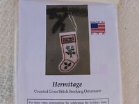 The Posy Collection The Hermitage Christmas Stocking Ornament Cross Stitch Kit