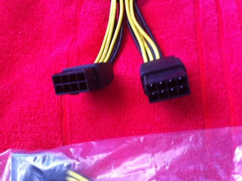 DUAL 8 PIN TO 8 PIN PCIE  VGA CARD Power Cable for Tesla K80 M40 M60 Grid M60