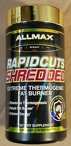 ALLMAX - RAPIDCUTS SHREDDED - Extreme Thermogenic Fat Burner - 90 caps - 7/2022