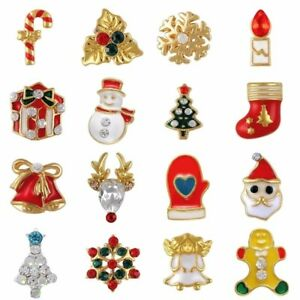 10pcs 3D Christmas Stylish Nail Art Decoration Charms Rhinestones Jewelry