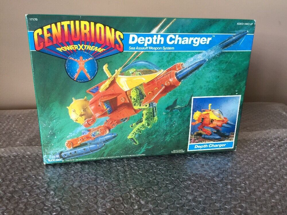 1986 CENTURIONS Power Xtreme  Depth Charger by Kenner MISB. UNOPENED