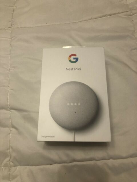 Google Nest Mini (2nd Generation) Smart Speaker - Chalk