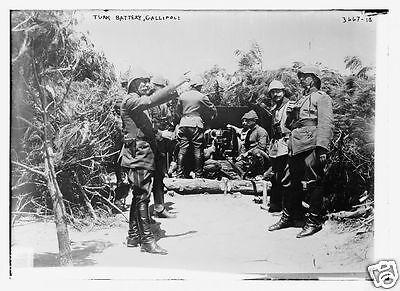 "5.5x4/"" Reprint Photo1 Turkish Ottoman Soldiers in Palestine Israel World War 1"