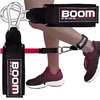 Rembourré sangle de cheville leg stretcher gym câble machine arts martiaux stretch gym hook