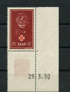 Germany-Saar-Saarland-vintage-yearset-1950-Mi-292-Br-Mint-MNH-1