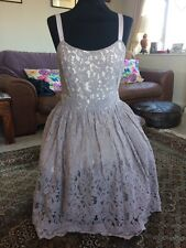 Alice Temperley Size 12 Lace 50's Style Dress