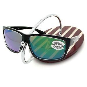 2f549716dc0 NEW Costa Del Mar CUT Squall   580 Green Mirror Glass 580G ...