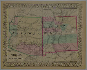 Details about 1867 Genuine Antique Map of Arizona & New Mexico. Hand on map of sanostee nm, map of new mexico colorado border, central basin and range ecoregion, blue mountains, map of az nm tx, texas blackland prairies, snake river plain, map of arizona highways, columbia plateau, willamette valley, map of alaska and arizona, i-10 map of arizona, map of pueblos new mexico, eastern cascades slopes and foothills, map with latitude and longitude of mexico, nevada road map arizona, coast range, coronado national forest trail maps arizona, california road map arizona, northern basin and range, map of i 40 in new mexico, flint hills, map of western united states, atlantic coastal pine barrens, map of texas, map of arizona cities, map of route 66 new mexico, western gulf coastal grasslands, klamath mountains, map of arizona border with mexico, map of southwest united states, map of las vegas and arizona, map of italy and arizona, madrean sky islands,