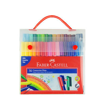 NEW Faber Castell Connector Pen Case 30 Pack