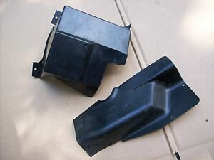 Porsche 944 Turbo S2 PLASTIC FUSE BOX COVERS 944 610 219