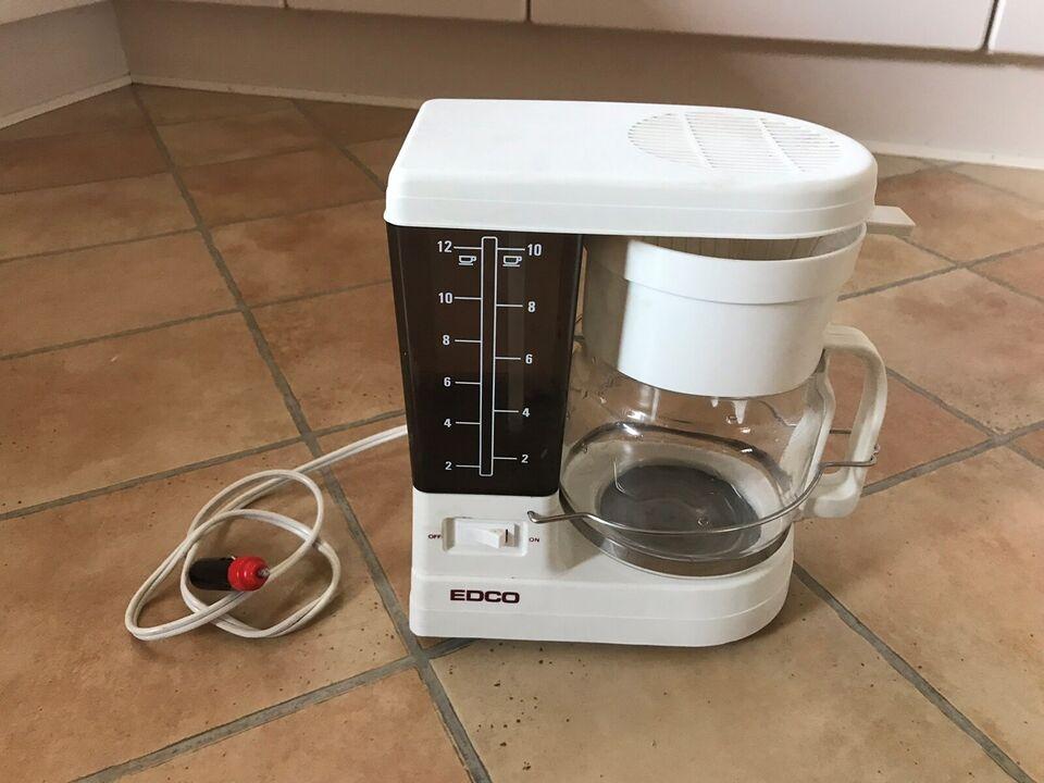Andet biltilbehør, EDCO 12 volt kaffemaskine