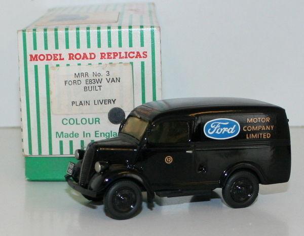Modell straße repliken 1   43 - mrr nr. 3 - ford e83w van - ford motor company