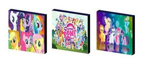 NEW MY LITTLE PONY ART BLOCKS// WALL ART PLAQUES//PICTURES