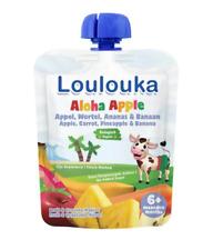 Loulouka Organic Puree: Aloha Apple - Apple, Carrot, Pineapple & Banana (6M) (90