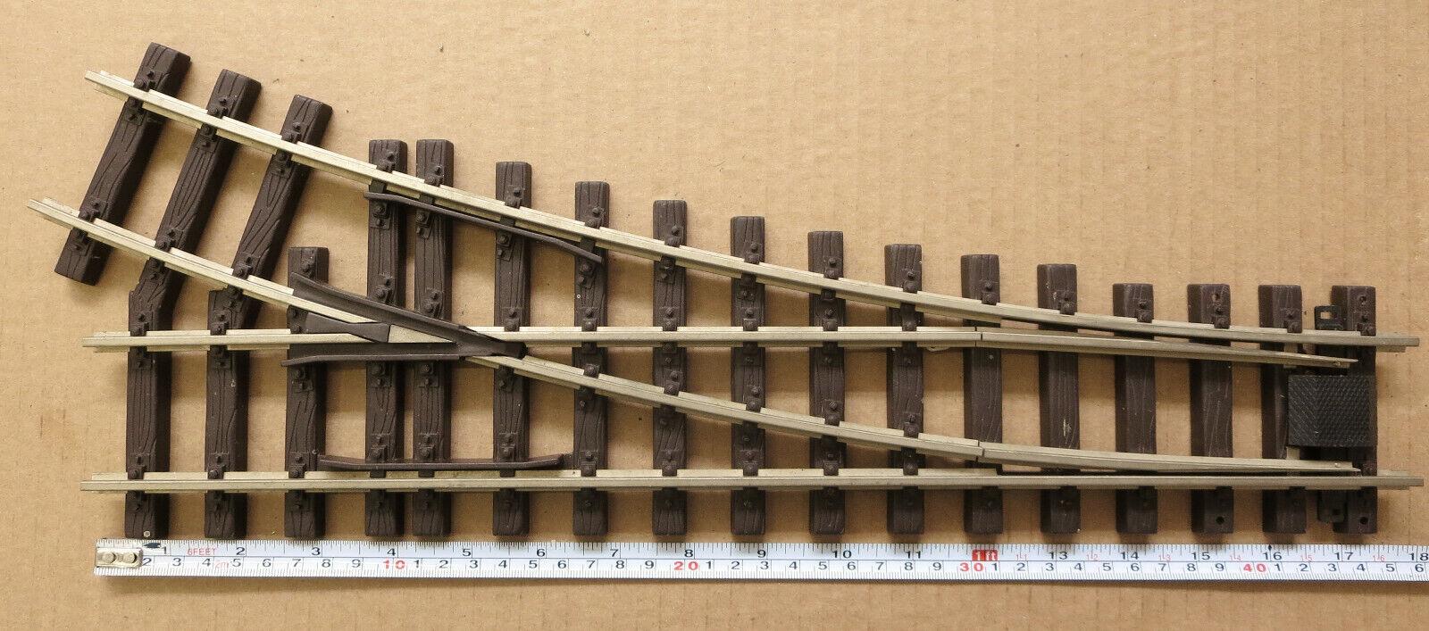 Tren-Line 45 R-3-1200 Código de interruptor derecho de Acero Inoxidable 332 G-calibre