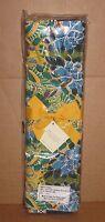 Pottery Barn Butterfly Print Spring Table Runner, 18 X 108, Blue,