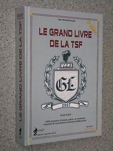 Libro-LE-GRAND-LIVRE-DE-LA-TSF-Antique-Radio-Magazine-transistor-valvole-d-039-epoca