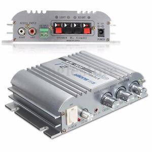 Car Amplifier Home 300W 12V Super Bass Hi-Fi 2.1 Channel Stereo Audio Mini AMP