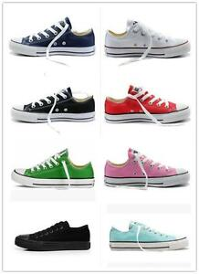 Women-Man-ALL-STARs-Chuck-Taylor-Ox-Low-Top-shoes-casual-Canvas-Sneakers
